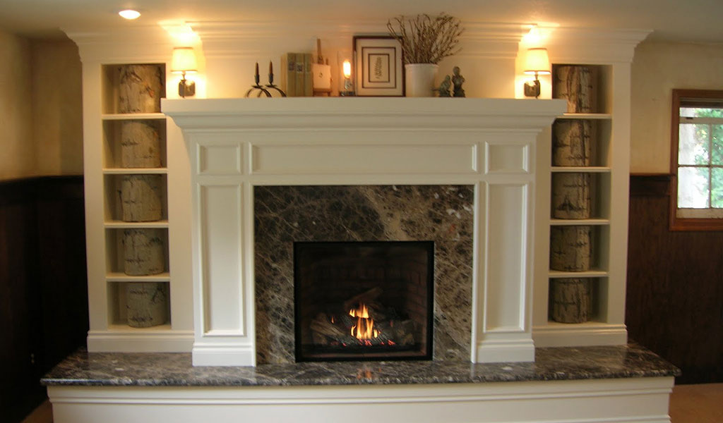 12 Cozy & Beautiful Fireplaces http://www.beautifuldesignmadesimple.com